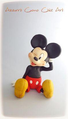 Meeska mooska ....Mickey Mouse!!! - Cake by Azzurra Cuomo Cake Art
