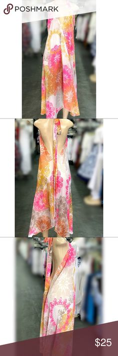 NEW Swimsuit Beach Cover Up Sheer Maxi Dress Chic Maxi Dress Style Swimsuit Coverup. Perfect for the beach, pool or for a day on the boat. Swim Coverups