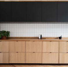 Apartment Interior, Kitchen Interior, Kitchen Decor, Kitchen Ideas, Apartment Renovation, L Shaped Kitchen Designs, Minimal Apartment, Arch Interior, Cabin Kitchens