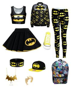 """Batman Mania"" by hchooks on Polyvore"