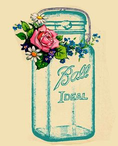 Ball Blue Mason Jar