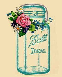 Ball Blue Mason Jar