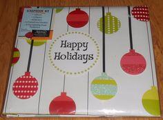 Happy Holidays Scrapbook Kit Markings CR Gibson Stickers Border Ann Kelle Design #Markings