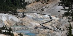 Lassen Volcanic National Park is a geothermal wonderland #travel #roadtrips #roadtrippers