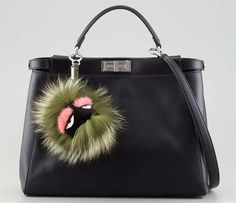 Fendi Bag Bugs. The cutest $700 I will probably never spend (unless I get rich AND lose my mind). But I love them.
