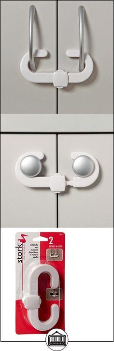 Cigüeña Niño Cuidado Secure Una cerradura-cerradura para armarios (2unidades)  ✿ Seguridad para tu bebé - (Protege a tus hijos) ✿ ▬► Ver oferta: http://comprar.io/goto/B00QIJN0DQ