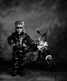 Little Biker Girl - love it!!
