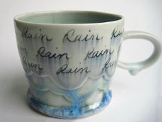 Small Rain Cloud Porcelain Mug
