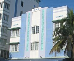 Miami Beach: Art Deco Details and Colors on Ocean Drive hotel, Miami Beach by DecoJim, via Flickr Hotels in Ocean Drive!