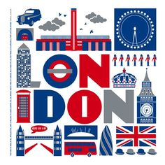 I have a spot in my heart for London, so this really made me smile, as simple as it is.