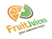 Fruit Juices Logo Template