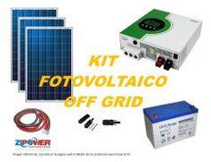 Kit Energía Solar Off Grid 5000W Off Grid, Usb Flash Drive, Kit, Nature, Usb Drive, Off The Grid
