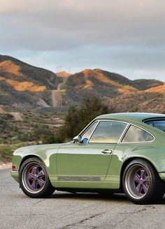 Porsche 911 Singer Brooklyn. Half German, half American. Made in LA, California, by a Brit lover.
