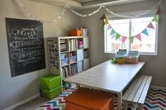 LOVE, LOVE, LOVE the wall art! - Inspiring Homeschool Rooms