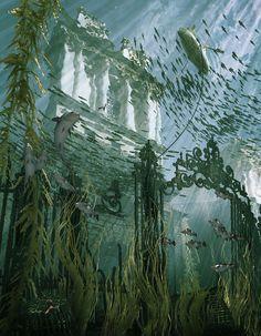 © Squint Opera: Flooded #London #ImageCreation