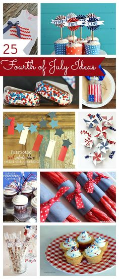 25 Fourth of July Ideas: snacks, decor and more!