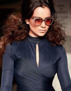 Kangana Ranaut Filmfare fashion magazine Oct 2013 photoshoot. #Bollywood #Fashion #Style
