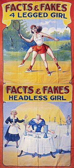4 Legged Girl and Headless Girl
