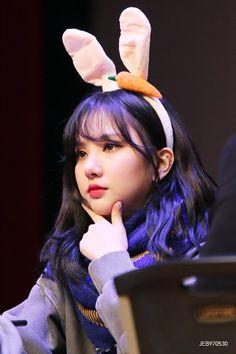 Image may contain: 1 person, child and closeup Kpop Girl Groups, Korean Girl Groups, Kpop Girls, Jooheon, Girls In Love, Cute Girls, Jung Eun Bi, G Friend, Daughter Of God