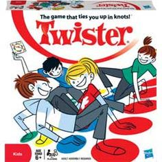 The Twister Game official website. Find the classic Twister board game, new fun games, apps and videos here brought to you by Hasbro! Teenage Party Games, Fun Teen Games, Teenage Parties, Teen Fun, Games For Teens, 80s Birthday Parties, 80s Party, 30th Birthday, Halloween Party
