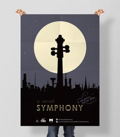 Print(Poster) Project: A Secret Symphony Campaign Client: Melbourne Symphony Orchestra (MSO) Description: A0 street poster design for A Secret