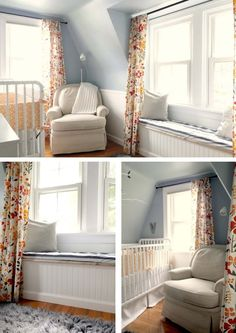 THIS IS EXACTLY THE SAME COLORS AND THE SAME TYPE OF SLATS THAT ARE IN HER ROOM. EXACTLY. SO EXCITED.