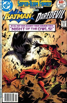 "Super-Team Family: The Lost Issues!: Batman and Daredevil in: ""Night of the Owls"""