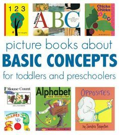 Great books about basic concepts