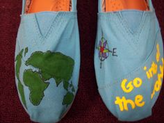 Shoes that I painted :)
