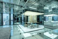 Glass Office in Shanghai by AIM Architecture