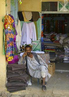 Shopkeeper . Keren, Eritrea