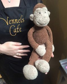 A cuddly monkey was left behind in Cafe in Durham and he wants to go home! https://www.facebook.com/photo.php?fbid=10207312592194241&set=a.1983500788359.2120375.1268421384&type=3&fref=nf