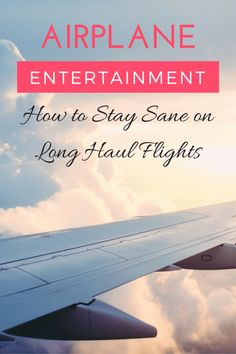 Airplane Entertainment >> How to Survive Long Haul Flights | www.apassionandapassport.com