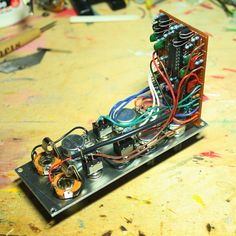 Proto-Schlock: EPFM (Electronic Projects for musicians) Build notes and layouts Electronic Circuit, Tank I, Electronics Projects, Musicians, Layouts, Electric, Notes, Building, Report Cards