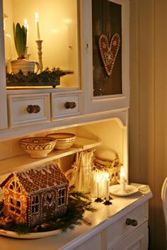 How I'm picturing my hutch in the sunroom! - Yes, it's moving on . . . getting ready for built in kitchen cabinets!