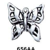 Butterfly Sterling Silver Charm .925
