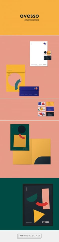 Avesso Professional Coaching Brand Identity by Estúdio Lampejo   Fivestar Branding Agency – Design and Branding Agency & Curated Inspiration Gallery