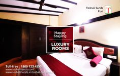 Accommodation in Toshali Sands is designed to provide the best comfort stay for their guests. While the rooms are finely decorated with comfortable beddings and the lush green view outside brings a sense of relaxation. www.toshalisands.com/rooms/