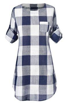J&B Classic Look Grid Dress