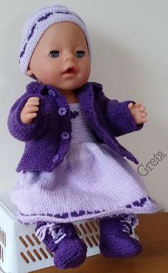 zelf gemaakt voor mijn pop:Baby Born-43cm-lila