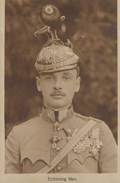 Erzherzog Max von Österreich, Archduke of Austria 1895 – 1952