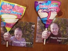 3D valentine using child's picture