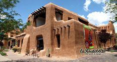 New Mexico Museum of Art, Santa Fe http://usroute66.wordpress.com/route-66-nouveau-mexique/