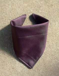 Small Dog Bandana Dark Purple Diamond by lovelylovedesigns on Etsy, $4.50