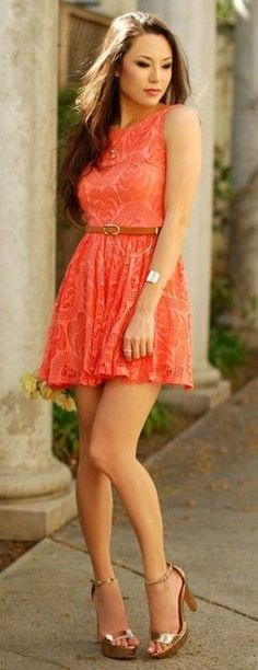Orane Lace Dress And Gold Sandals |Hapa Time