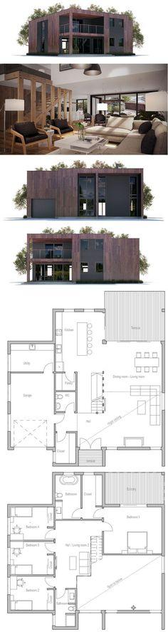 nice Contemporary Home CH299