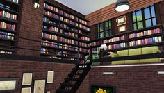 Bookstore by GGOYAM : BANGSAIN at My Sims House