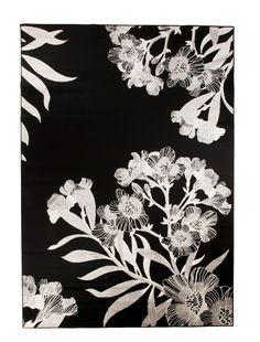 Vallila Interior AW14, Oleanteri rug black 140x200cm