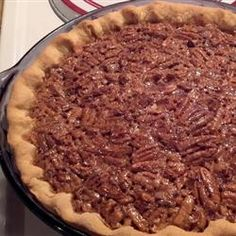 Pecan Pie- I have made this again & again & it has proven to be the BEST Pecan Pie recipe yet!