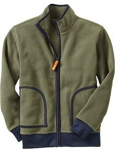 Boys Micro Performance Fleece Jackets